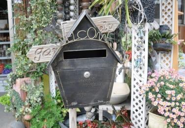 鐵製信箱   90694
