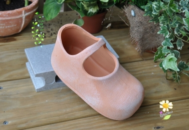 娃娃鞋素燒盆 SP-3257