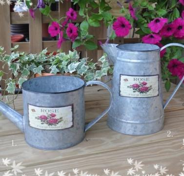 鐵製鍍鋅造型花器