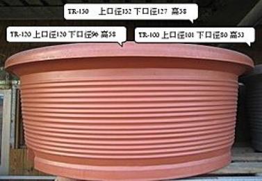 塑鋼盆TR-圓形系列   (3個尺寸)