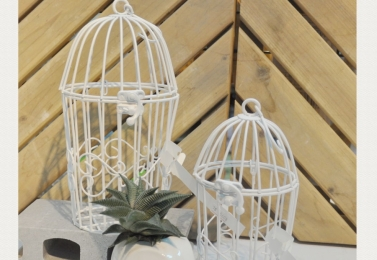 鐵製小鳥籠 (三種款式各有2種尺寸)