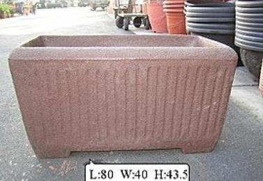 塑鋼盆  IT-80    80cm長槽