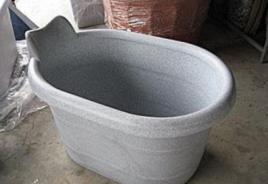 塑鋼盆  NCH-005-8  頭枕式沐浴桶