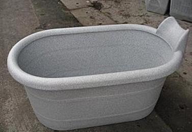 塑鋼盆  NCH1-005-10  加長型頭枕式沐浴桶