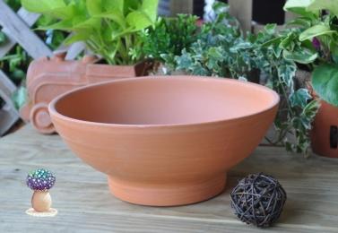 素燒大碗盆   C109   (共3個尺寸)
