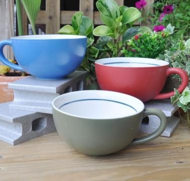 霧彩咖啡杯花器